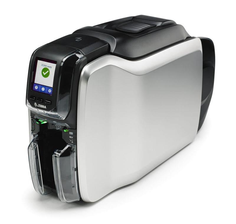Plastikkartendrucker-ZEBRA-ZC300-ANTEGIS