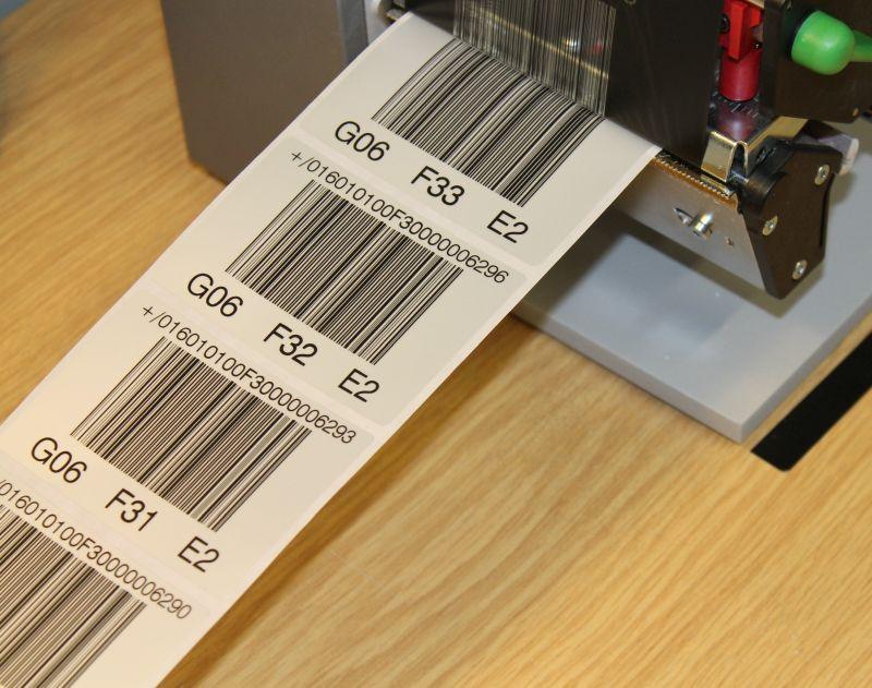 Barcodeetiketten-ANTEGIS
