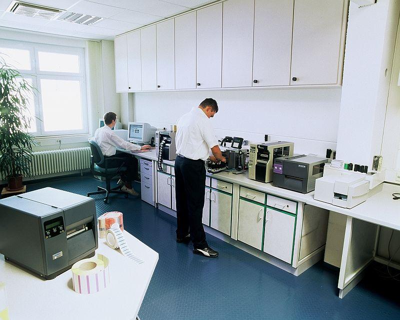 Thermotransferfolien-Kompatibilitätstest-ANTEGIS