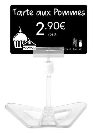 Evolis Preisschildhalter, AC000011